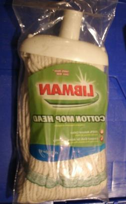 LIBMAN 100% COTTON WET MOP REPLACEMENT HEAD #00111 SEALED