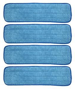 18 inch Microfiber Replacement Mop Pad Wet Dry Home Commerci