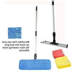 2 18 professional microfiber mop pads stainless