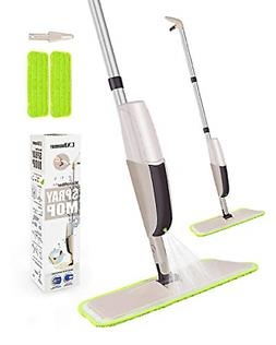 2 Mop Pads Spray Mop for Floor Cleaning for Tile Floors Refi