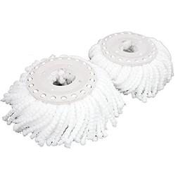 1 X Lot Of 2 Replacement Mop Micro Head Refill Hurricane For