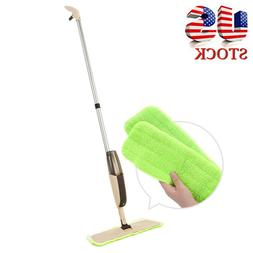 2019 Spray Mop with Two Reusable Super Soft Microfiber Pads