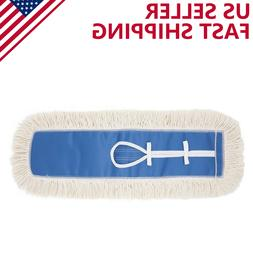 24'' Industrial Strength Cotton Dust Mop Head Refill Thick T