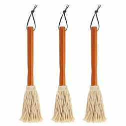 "3 Pack 12"" BBQ Basting Mops Roasting Grilling Apply Barbeque"