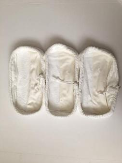 3 Reusable Microfiber Replacement Pads Compatible with Swiff