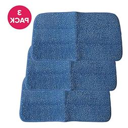 Think Crucial 3 Replacements for Rubbermaid Blue Mop Pad, Fi