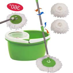 360-Rotating-Head-Easy-Magic-Floor-Mop-Bucket-2-Head-Microfi