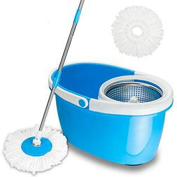 Valuebox 360°Spin Mop with Stainless Steel Bucket System Ex