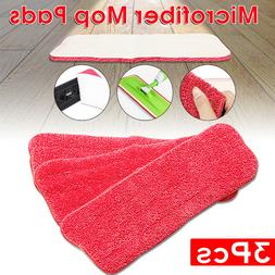 3Pcs Reveal Mop Microfiber Head Cleaning Pad Fit All Spray M