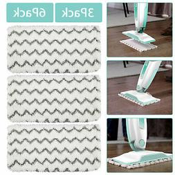 3x 6x Steam Mop Pads Replacement For Shark Vacuum S1000 S100