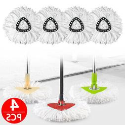 4/2/1X Replacement Heads Easy Cleaning Mopping Wring Spin Mo