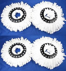 4 NEW Replacement Microfiber Mop Head Refill For Hurricane M