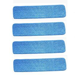 "Ximoon 4 Pack- 18"" Microfiber Spray Mop Cleaning Pad Refills"