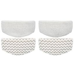 4 Steam Mop Pads Fits Bissell PowerFresh 1940 1440 1544 Seri