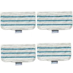 4 x Floor Washable Replacement Cleaner Steam Mop Pads For Bl