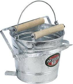 Behrens 412W 12-Qt. Combination Round Mop Bucket With Wringe