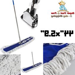 44 Inch Snap On Durable Dust Mop Kit Commercial Household Br