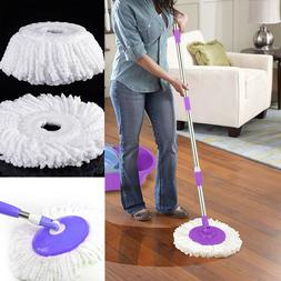 4x Replacement Microfiber Mop Head Easy Clean Wring Refill F