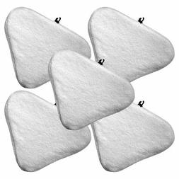 5 MicroFiber Replacement Pads H2O H20 Mop Steam Cleaner