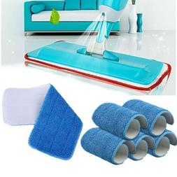 5pcs Reusable Washable Microfiber Mop Pad Cleaning Pad For 1