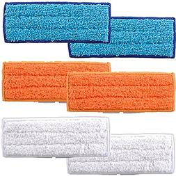 Amyehouse 6 PACKS Mopping Cloths Replacement for Irobot Braa