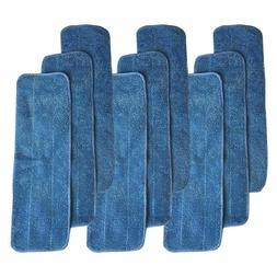 9 Bona Washable & Reusable Microfiber Mop Pads Fit Bona Mops