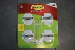 Command 08095001268 Broom, White, Indoor, 2 Grippers, 4 Stri