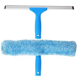 MR.SIGA Professional Window Cleaning Combo - Squeegee & Micr