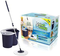 Twist and Shout Mop - Award Winning Hand Push Spin Mop from