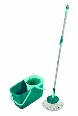 Leifheit Clean Twist Spin Mop System with Bucket and Round M