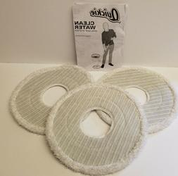 Quickie Clean Water Spin System Mop Head Replacements 3 Pack