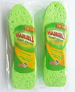 Cleaning Sponge Non-Scratch Libman Gentle-Touch Refills 2 -2