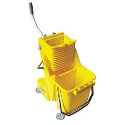 Unger COMBY Yellow 8 Gallon Bucket with Side Press System