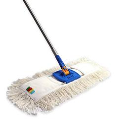 """YCUTE Commercial Heavy Duty Dust Mop Cotton with 53"""" Stainle"""