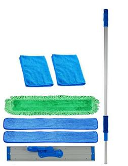 36 inch Professional Commercial Microfiber Mop With Three 36