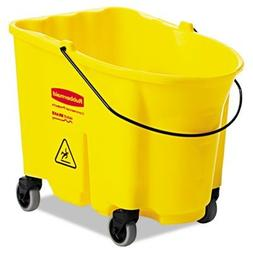 Rubbermaid Commercial Products RCP 7570-88 YEL Wavebrake Bas
