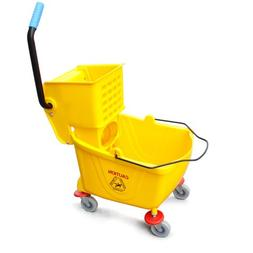 ProAdvantage Commercial Quality Side Press Mop Bucket with W