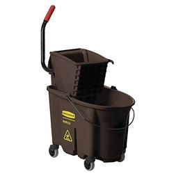 Rubbermaid Commercial Wavebrake 35-Quart Bucket/Wringer Comb