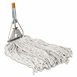 "Genuine Joe Cotton Wet Mop with Handle 60"" Width x 0.94"" Hei"