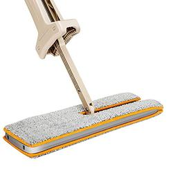 Double Sided Lazy Mop Easy Self Wringing Flat Mop 360 Degree