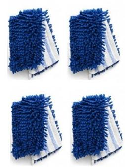Synonymous Dual-Action Microfiber Mop Refill Compatible with