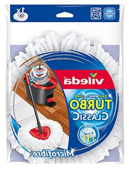 Vileda EasyWring and Clean Turbo Classic Microfibre Mop Refi