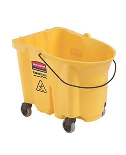Rubbermaid FG757000 Yellow 35-Quart WaveBrake Mopping Bucket