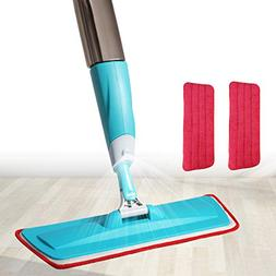 Spray Floor Mop Kit,Aicehome Professional Spray Mop 360 Degr