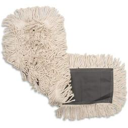 "Genuine Joe GJO00245CT Disposable Cotton Dustmop, 24""X25"", 1"