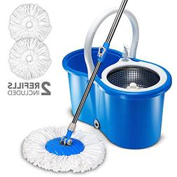 Hapinnex 360° Spin Magic Mop & Bucket Floor Cleaning System