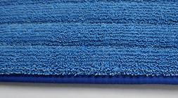 """2-pack of 18"""" Inch Microfiber Wet Mop Pads for Commercial Mi"""