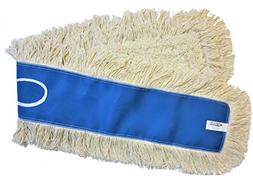 "48"" Industrial Strength Washable Cotton Dust Mop Refill Thic"