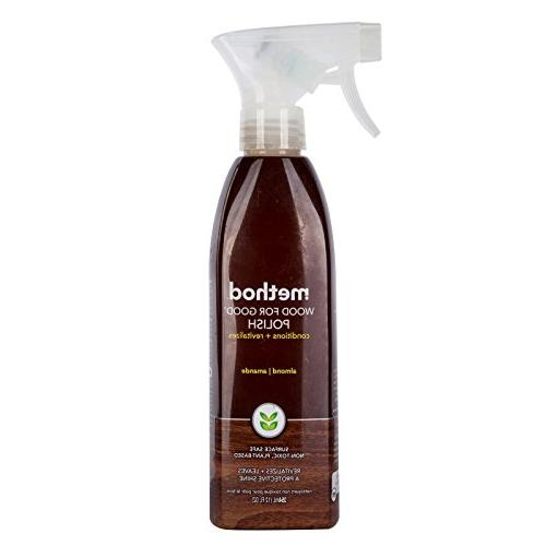 Method 00086 12 Oz Almond Wood For Good® Wood Surface Spray