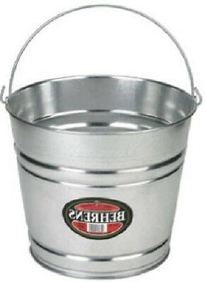 1210gs galvanized steel pail